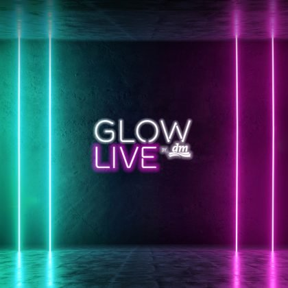 GLOW by dm LIVE Header