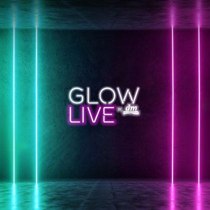 GLOW by dm LIVE Header